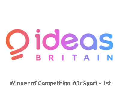 Ideas Britain, Winner 1st Place Snaptivity, InSport, Competition, UK